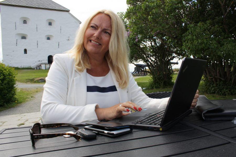 POPULÆR FOREDRAGHOLDER: Heidi Klefstad holder i dag 3-4 foredrag i uka. Forretningideen fikk hun da hun mistet jobben under finanskrisen.