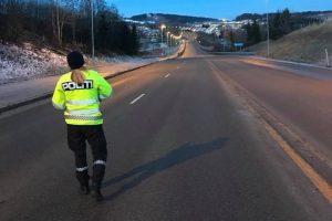Travel natt for politiet i Trondheim