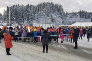 Stor jubel da nye Fv. 704 ble offisielt åpnet